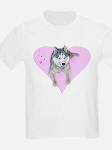 Heart Husky T-Shirt