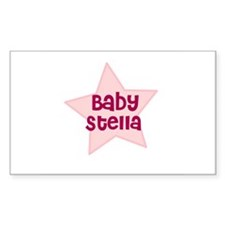 Baby Stella Rectangle Decal