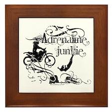 Adrenaline Junkie Framed Tile