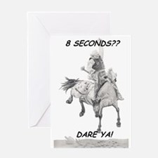 8 Seconds Greeting Card