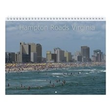 Hampton Roads Virginia Wall Calendar