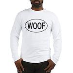 WOOF Oval Long Sleeve T-Shirt