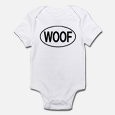 WOOF Oval Infant Bodysuit