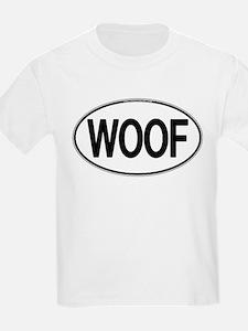 WOOF Oval T-Shirt
