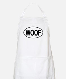 WOOF Oval BBQ Apron