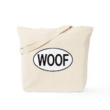 WOOF Oval Tote Bag