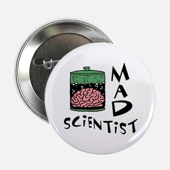Mad Scientist Button