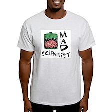 Mad Scientist Ash Grey T-Shirt
