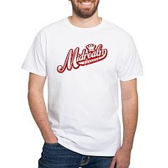 Midrealm Red/White Vintage Retro Shirt