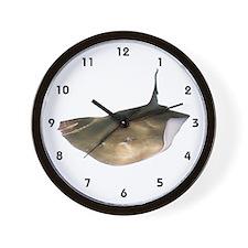 Stingray on Wall Clock