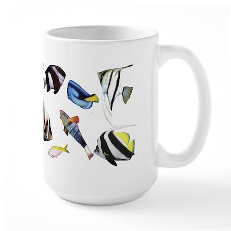Fish on Large Mug