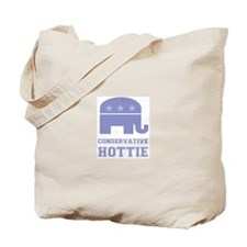 Conservative Hottie Tote Bag