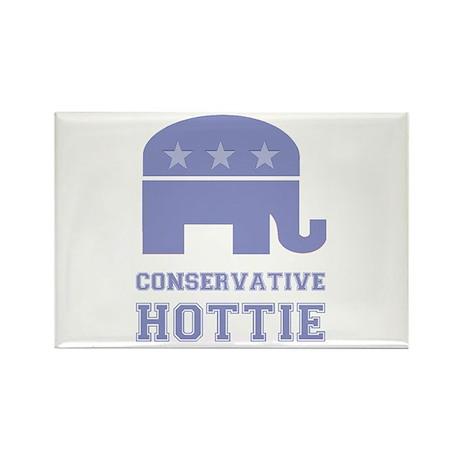 Conservative Hottie Rectangle Magnet (10 pack)