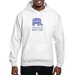 Conservative Hottie Hooded Sweatshirt