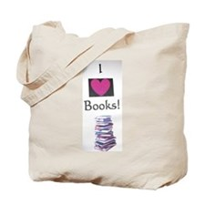 Unique Books i Tote Bag