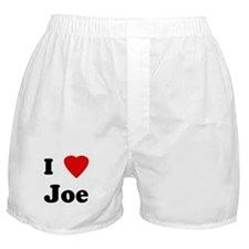 I Love Joe Boxer Shorts