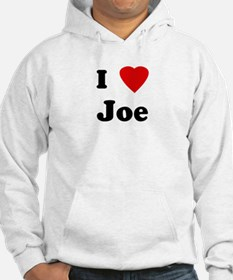 I Love Joe Jumper Hoody