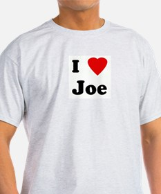 I Love Joe T-Shirt
