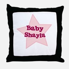 Baby Shayla Throw Pillow
