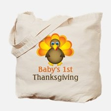 Baby's 1st Thanksgiving Tote Bag