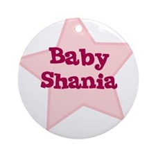 Baby Shania Ornament (Round)