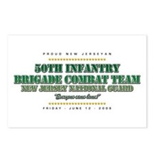 50th Infantry Postcards (Package of 8)