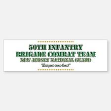 50th Infantry Bumper Bumper Bumper Sticker