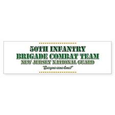 50th Infantry Bumper Bumper Sticker