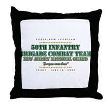 50th Infantry Throw Pillow