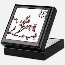 Riyah-Li Designs Cherry Blossom Keepsake Box