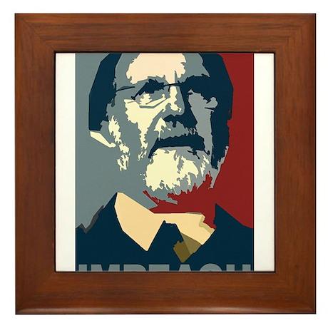 Impeach Corzine Framed Tile