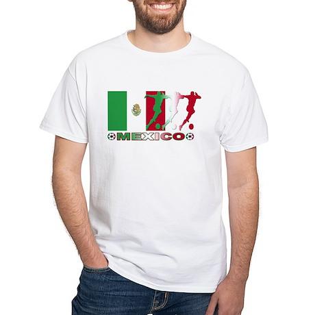 Mexico soccer White T-Shirt