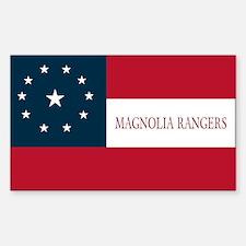 Magnolia Rangers (1st Texas Cav) (Rectangle)