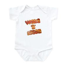 Wake N Bacon Infant Bodysuit