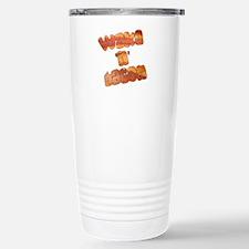Wake N Bacon Travel Mug