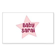 Baby Sarai Rectangle Decal