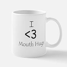 I Heart Mouth Hugs Mug