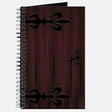 Castle Door Journal (Red/Black)