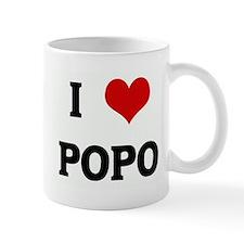 I Love POPO Small Mug