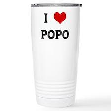 I Love POPO Travel Mug