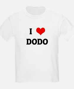 I Love DODO T-Shirt