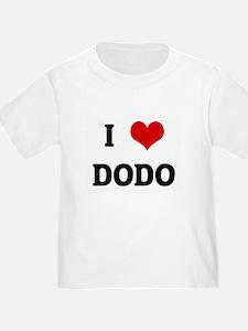 I Love DODO T