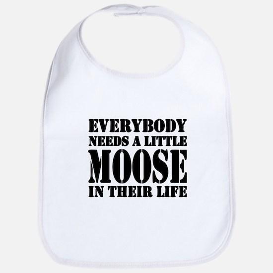 Get a Little Moose Bib