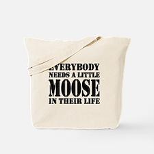 Get a Little Moose Tote Bag