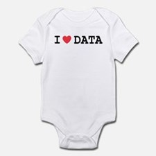 I Heart Data Infant Bodysuit