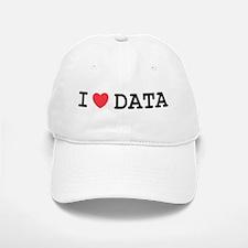 I Heart Data Baseball Baseball Cap