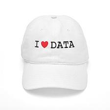 I Heart Data Baseball Cap