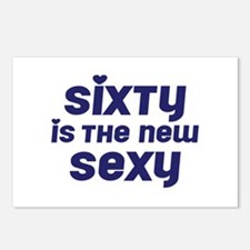 Sixty is the New Sexy Postcards (Package of 8)