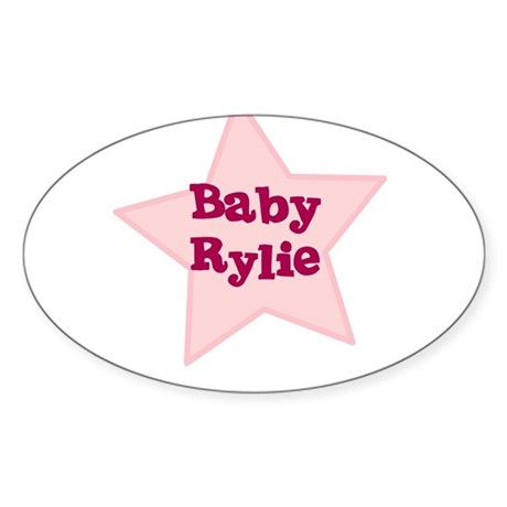 Baby Rylie Oval Sticker
