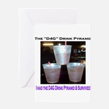 The New Orleans D4G Drink Greeting Card